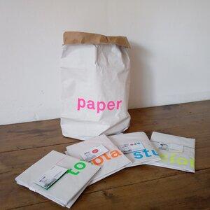 Sack aus Altpapier 5er Set - Kolor