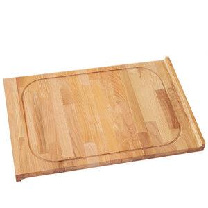 Schneidebrett Holz zweiseitig verwendbar ca. 60x40 cm - NATUREHOME