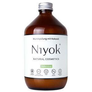 Niyok Mundspülung Pfefferminze - Niyoks Naturkosmetik