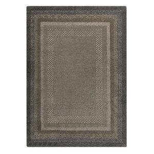 """Handgefertigter Teppich """"Aurora"""" aus Wolle in Braun- versch. Größen - Prolana"""