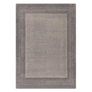 """Handgefertigter Teppich """"Alvo"""" aus Wolle in Braun- versch. Größen - Prolana"""