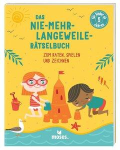 Nie-mehr-lange-Weile-Rätselbuch ab 5 Jahren - Moses Verlag