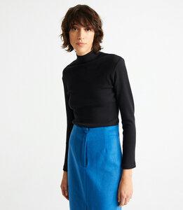 Langarmshirt - Rib Aine - aus Bio-Baumwolle - thinking mu