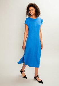 Isadora Dress Cornflower Blue - Mahla Clothing