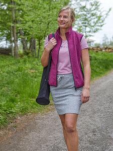Damen Walk Weste Tilly Wolle/Tencel - IVANHOE