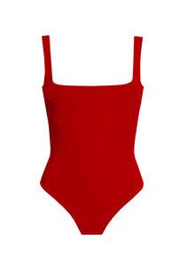 Swimsuit No.16 - schlichter Badeanzug mit geraden Trägern - RENDL