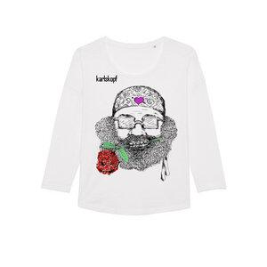 CASANOVA - Damen Langarmshirt aus Bio-Baumwolle von karlskopf - karlskopf