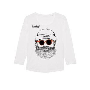 HIPSTER - Damen Langarmshirt aus Bio-Baumwolle von karlskopf - karlskopf