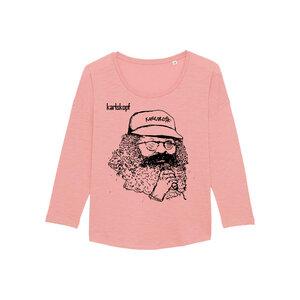 SAENGER - Damen Langarmshirt aus Bio-Baumwolle von karlskopf - karlskopf