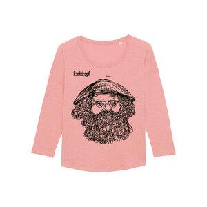 VIETNAMESE - Damen Langarmshirt aus Bio-Baumwolle von karlskopf - karlskopf