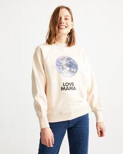 Love Mama Sweatshirt - thinking mu