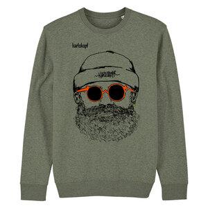 HIPSTER - Herren Sweater aus Bio-Baumwolle von karlskopf - karlskopf