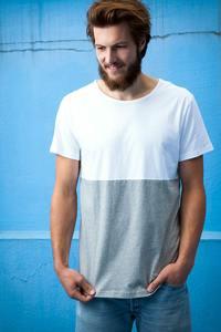 Shirt Half Half weiß - Degree Clothing