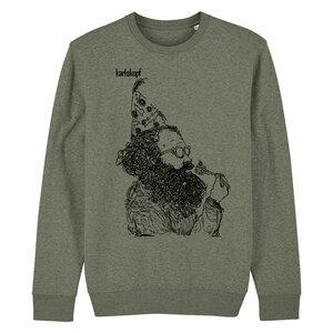 KAFFEEKLATSCH - Herren Sweater aus Bio-Baumwolle von karlskopf - karlskopf