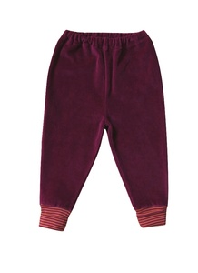Kinder Nickyhose weinrot Bio - Leela Cotton