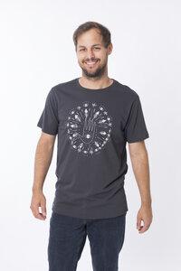 """Bio T-Shirt """"Mandala arsenic"""" - Zerum"""
