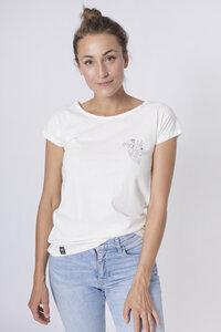 """Bio T-Shirt """"Lea Herz white"""" - Zerum"""