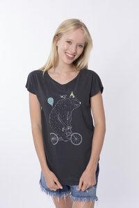 """Bio T-Shirt """"Lea Bär arsenic"""" - Zerum"""