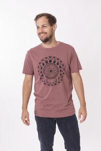 """Bio T-Shirt """"inner circle mauve"""" - Zerum"""