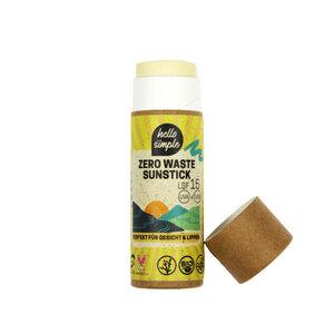 Zero Waste Sunstick LSF 15 - Hello Simple