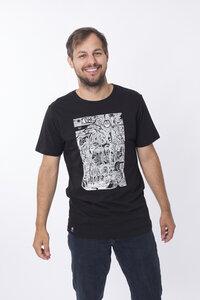 """Bio T-Shirt """"Der Weg black"""" - Zerum"""