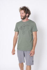 "Bio T-Shirt ""Tiger graugrün"" - Zerum"