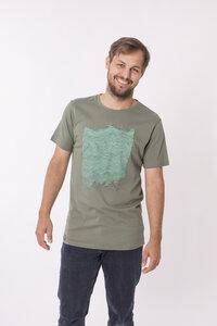"""Bio T-Shirt """"sea stone"""" - Zerum"""