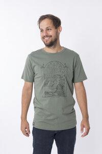 "Bio T-Shirt ""surf graugrün"" - Zerum"