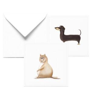 Glückwunschkarte zum Geburtstag | 2er Set Grußkarten - Dori´s Prints