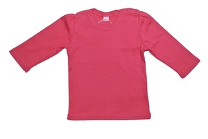Kinder Shirt LA pink Bio - Leela Cotton