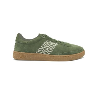 Sneaker Saigon Suède - Cat Tien - Olive - N'go Shoes