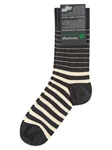 HempAge Damen und Herren Ringel-Socken Hanf/Bio-Baumwoll - HempAge