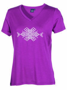Damen T-Shirt Mim Inka reine Merinowolle - IVANHOE