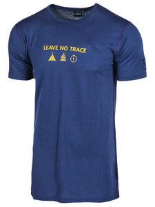 Herren T-Shirt Agaton Trace reine Merinowolle - IVANHOE