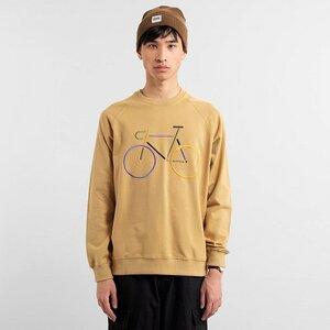 Dedicated Sweatshirt Malmoe Color Bike Embroidery  - DEDICATED