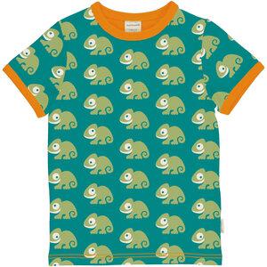 Kurzarm T-Shirt Top Chamälion - maxomorra