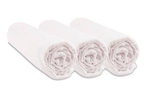 Kinder-Spannbettlaken Aus Jersey Bio-Baumwolle - 3 Stück - Easy Dort
