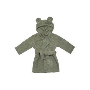 """Bademantel mit Kapuze """"Teddy"""" - aus Bio-Baumwolle, GOTS zertifiziert - Wooly Organic"""