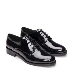 Olaya Black | vegane runder Fußspitze - Nae Vegan Shoes