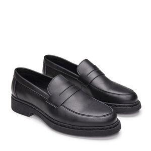 NAE Sebas Black | Vegane Pennyloafer - Nae Vegan Shoes