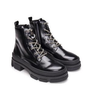 NAE Verana Black | Vegane Boots mit prominenter Sohle - Nae Vegan Shoes