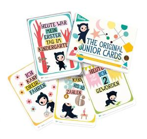 MILESTONE JUNIOR CARDS - Milestone