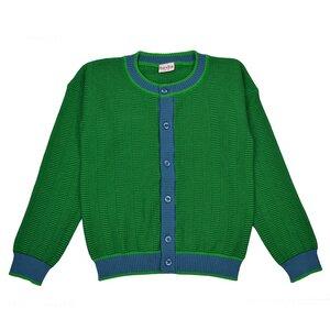 Baba Kidswear Cardigan evergreen - Bio-Baumwolle - Baba Kidswear