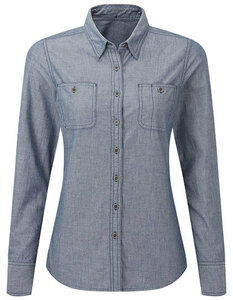 Damenbluse Langarm - Premier Workwear