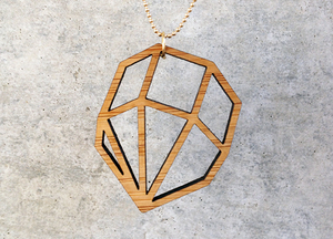 Holzkette - Diamant - All-Things-We-Like