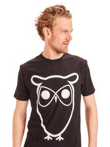 T-Shirt - ALDER basic owl tee - aus Bio-Baumwolle - KnowledgeCotton Apparel