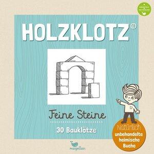 Holzklotz - Feine Steine - Magellan