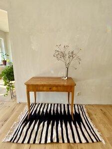 Handgewebter rustikaler Berberteppich mit Wolle und Ziegenhaar - LaMalve