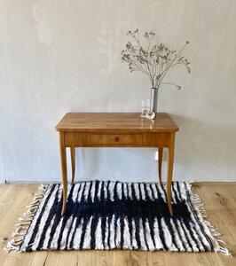 """Handgewebter Kelim Berber Teppich mit Wolle und Ziegenhaar """"Zebra"""" - LaMalve"""