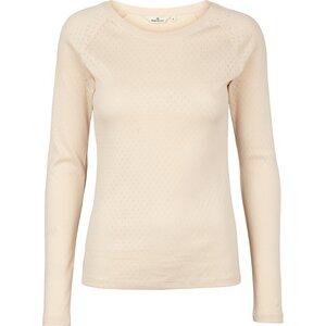 Langarmshirt ARENSE mit Lochmuster aus Bio-Baumwolle - Basic Apparel